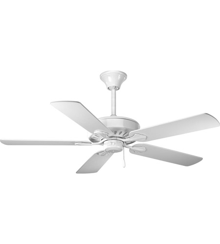 Progress P2503-30W AirPro 52 inch White Ceiling Fan photo