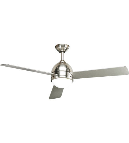 Progress Lighting Trevina 1 Light Ceiling Fan in Brushed Nickel P2514-09 photo