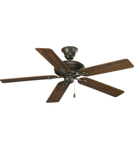 Progress Lighting AirPro Ceiling Fan in Forged Bronze P2521-77 photo
