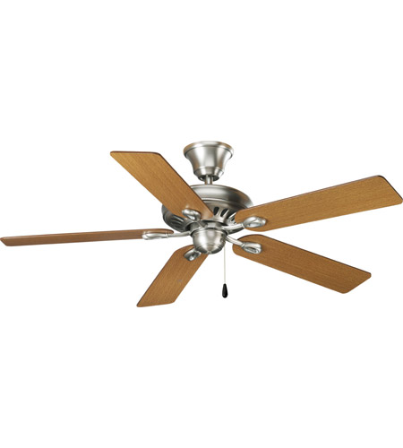 Progress Lighting AirPro Ceiling Fan in Antique Nickel P2521-81 photo