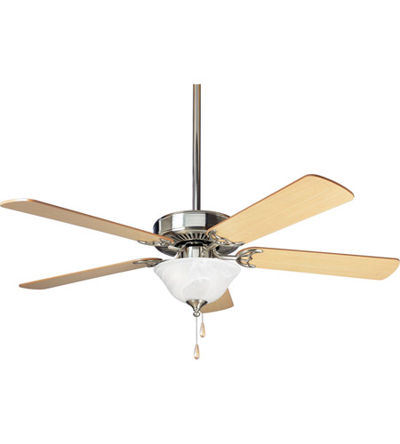 Progress Lighting AirPro 3 Light Ceiling Fan in Brushed Nickel P2522-09 photo