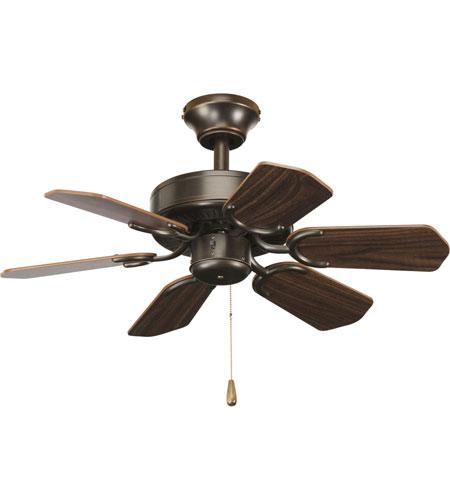 Progress Lighting AirPro Ceiling Fan in Antique Bronze