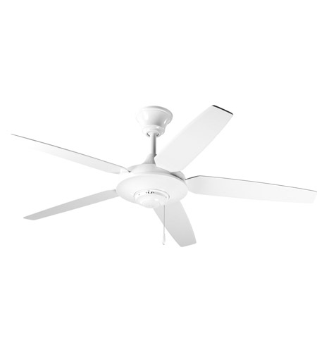 Progress P2530-30W AirPro 54 inch White Ceiling Fan photo