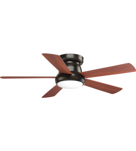 Progress P2572-2030K Vox 52 inch Antique Bronze with American Walnut Blades Ceiling Fan photo thumbnail
