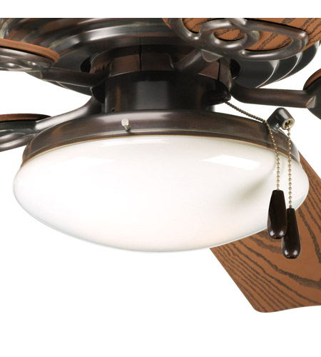 Progress Lighting AirPro 2 Light Fan Light Kit in Antique Bronze P2611-20 photo