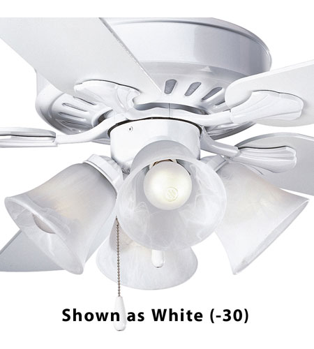 Progress Lighting Alabaster Glass 4 Light Fan Light Kit in Brushed Nickel P2616-09 photo