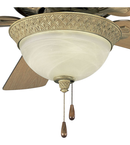 Progress Lighting Savannah 3 Light Fan Light Kit in Seabrook P2617-42 photo