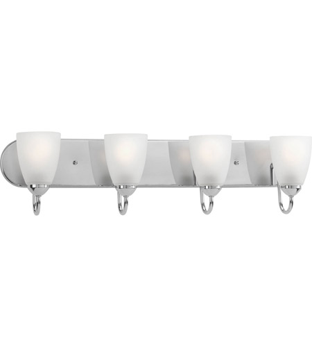 Progress Lighting Gather 4 Light Bath Vanity in Polished Chrome P2709-15 photo