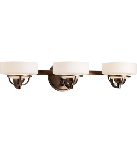 Progress Lighting Torque 3 Light Bath Vanity in Copper Bronze P2721-124WB photo