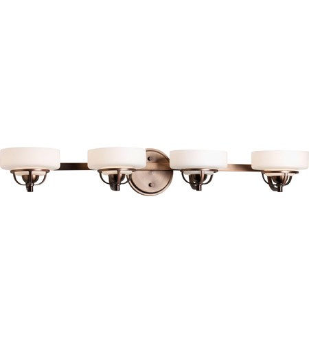 Progress Lighting Torque 4 Light Bath Vanity in Copper Bronze P2722-124WB photo