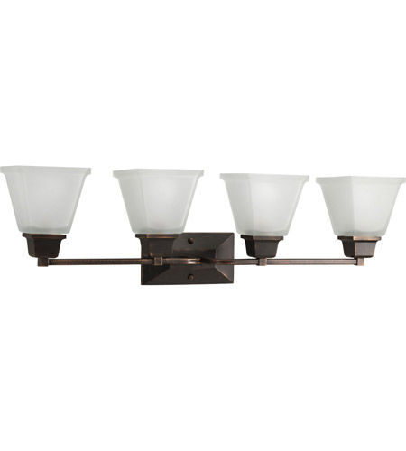 Progress Lighting North Park 4 Light Bath Vanity in Venetian Bronze P2745-74 photo