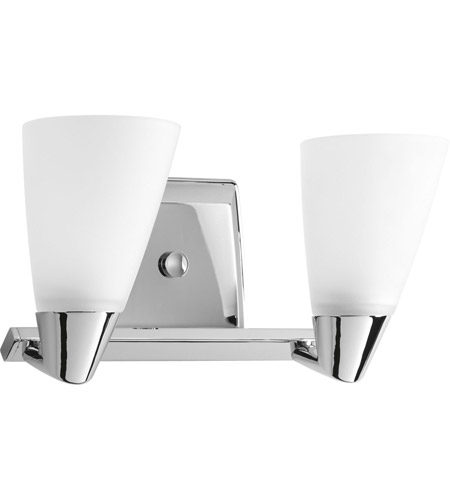 Polished Chrome Rizu Bathroom Vanity Lights