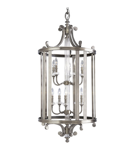 Progress P2816-101 Roxbury 10 Light 22 inch Classic Silver Hall & Foyer Ceiling Light photo