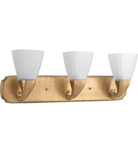 Progress p2848 109 addison 3 light 26 inch brushed bronze - Brushed bronze bathroom light fixtures ...