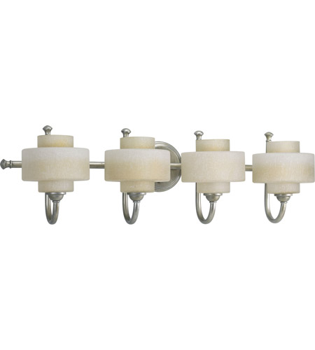 Progress P2888-134WB Ashbury 4 Light 31 inch Silver Ridge Bath Vanity Wall Light photo