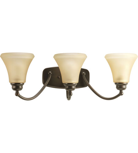 Progress Lighting Janos 3 Light Bath Vanity in Antique Bronze P2911-20 photo