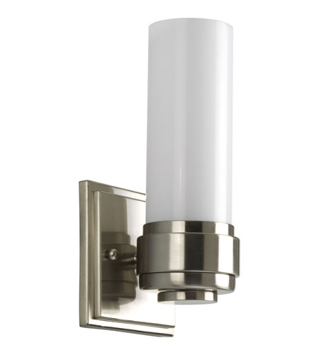 Progress Lighting Maier 1 Light Bath Vanity in Brushed Nickel P2926-09 photo