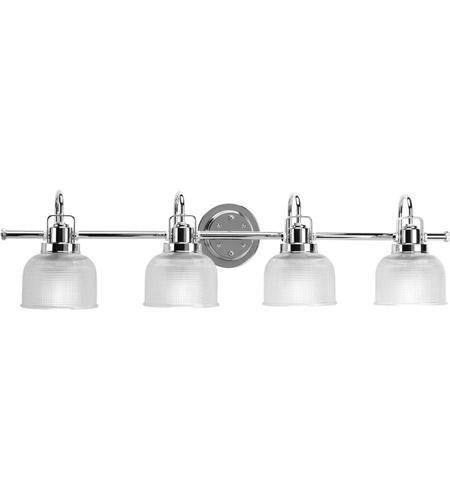 Progress P Archie Light Inch Chrome Bath Vanity Wall Light - Chrome bathroom vanity lights