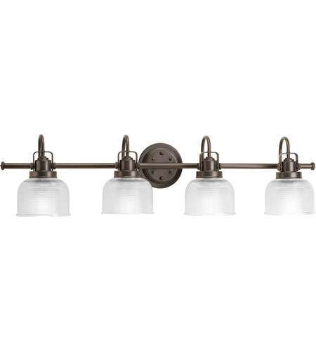 Progress Lighting Archie 4 Light Bath Vanity in Venetian Bronze P2997-74 photo