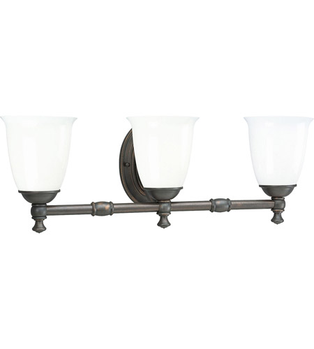 progress p3029 74 victorian 3 light 25 inch venetian bronze bath