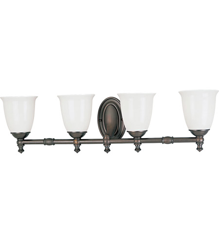 Progress Lighting Delta Victorian 4 Light Bath Vanity in Venetian Bronze P3041-74 photo