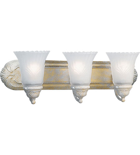 Progress P3073-18 Montgomery 3 Light 24 inch Venetian Gold Bath Vanity Wall Light photo