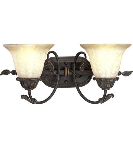 Progress Lighting Timberbrook 2 Light Bath Vanity in Espresso P3177-84 photo