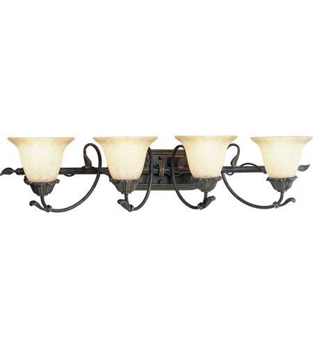 Progress P3179-84 Timberbrook 4 Light 33 inch Espresso Bath Vanity Wall Light photo