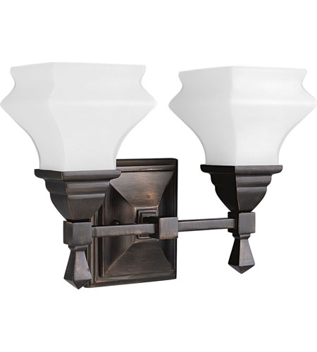 Progress Lighting Bratenahl 2 Light Bath Vanity In Venetian Bronze P3296 74