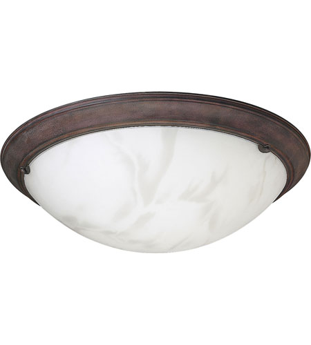 Progress Lighting Eclipse 4 Light Semi-Flush Mount in Cobblestone P3482-33 photo