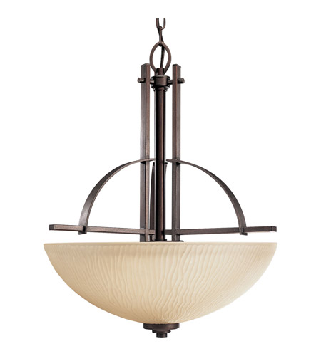Progress P3519-88 Riverside 3 Light 19 inch Heirloom Hall & Foyer Ceiling Light photo