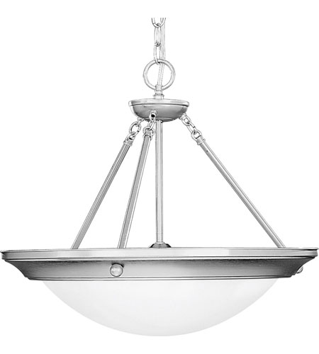 Progress Lighting Eclipse 3 Light Hall & Foyer in Brushed Steel P3573-13 photo