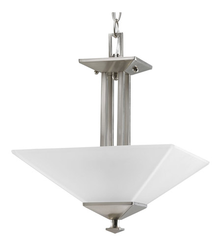 Progress P3597-09 North Park 2 Light 13 inch Brushed Nickel Semi-Flush Mount Ceiling Light photo