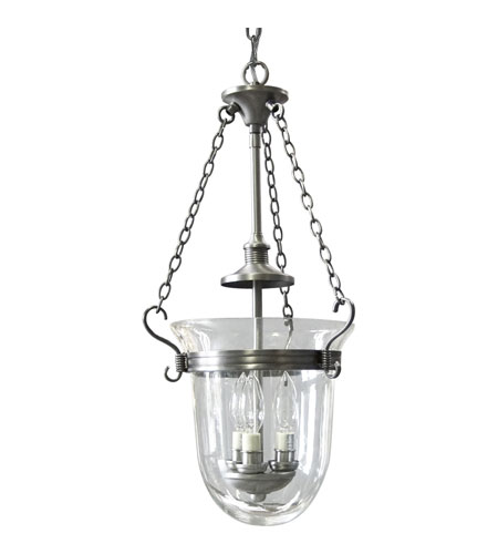 Progress Lighting Essex 3 Light Hall & Foyer in Antique Nickel P3617-81 photo