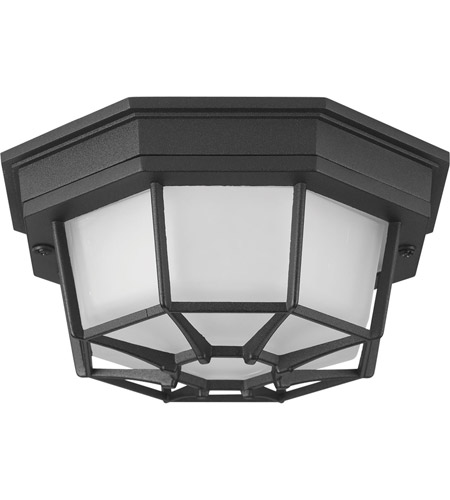 Progress P3665-3130K9 Milford LED 9 inch Black Outdoor Flush Mount photo