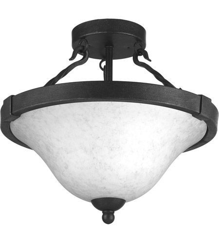 size 40 2f1c1 01573 Enclave 3 Light 15 inch Gilded Iron Semi-Flush Convertible Ceiling Light