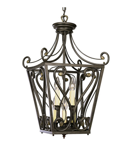 Progress Lighting Bradford 8 Light Hall & Foyer in Forged Bronze P3703-77 photo