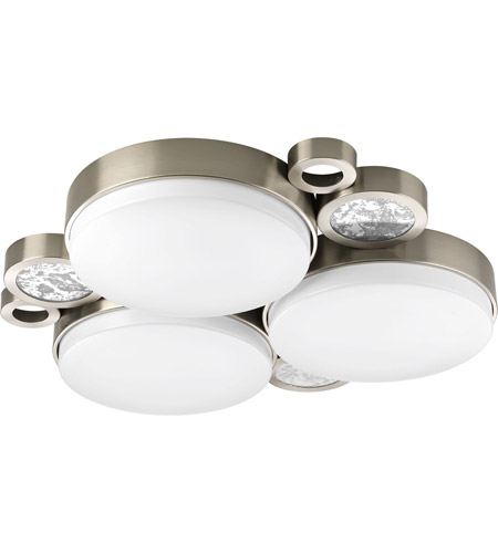 Progress P3747 0930K9 Bingo LED 23 Inch Brushed Nickel Flush Mount Ceiling  Light