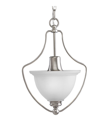 Progress P3792-09 Madison 1 Light 10 inch Brushed Nickel Hall & Foyer Ceiling Light photo