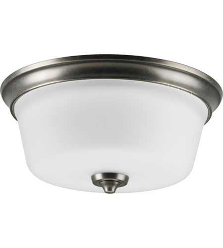 Progress Lighting Delta Lahara 2 Light Flush Mount in Aged Pewter P3836-03 photo