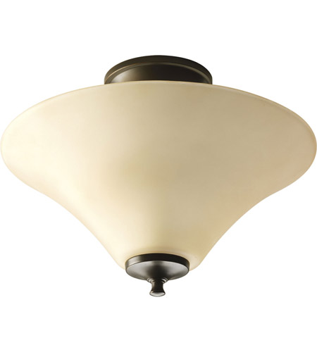 Progress Lighting Janos 2 Light Semi-Flush Mount in Antique Bronze P3855-20 photo