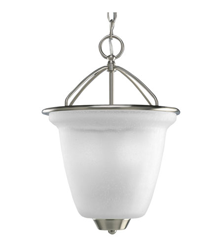 Progress P3895-09 New Bedford 2 Light 11 inch Brushed Nickel Hall & Foyer Ceiling Light photo
