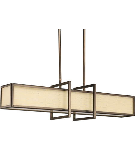 Progress Lighting Haven 4 Light Hall & Foyer in Copper Bronze P3898-124 photo