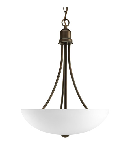 Progress P3914-20EBWB Gather 2 Light 15 inch Antique Bronze Hall & Foyer Ceiling Light in Bulbs Included, Fluorescent photo