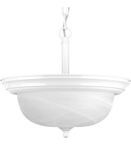 Progress P3927-30 Alabaster 2 Light 13 inch Textured White Semi-Flush Mount Ceiling Light in Bulbs Not Included, Smooth Etched Alabaster photo