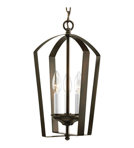 Progress Lighting Gather 3 Light Hall & Foyer in Antique Bronze P3928-20 photo
