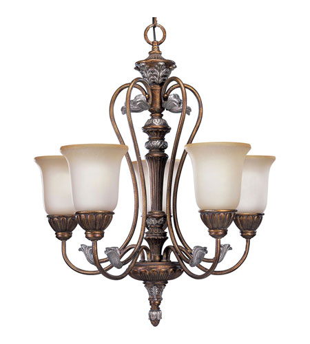 Progress Lighting Thomasville Carmel 5 Light Chandelier in Tuscany Crackle P4299-55 photo