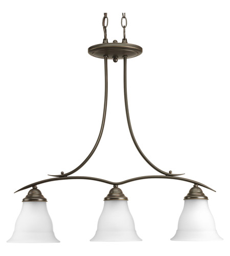 Progress Lighting Trinity 3 Light Chandelier in Antique Bronze P4325-20 photo