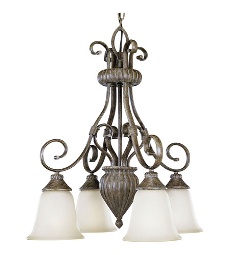 Progress Lighting Maison Orleans 4 Light Chandelier in Fieldstone P4372-87 photo