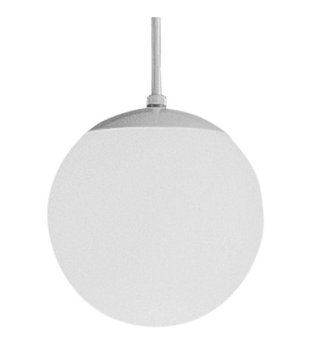 Progress P4401-29 Opal Globe 1 Light 8 inch Satin White Pendant Ceiling Light photo